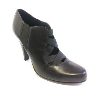 Donald J Pliner Signature Leather Stiletto Booties
